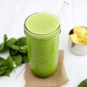 Green smoothie named Be Simple