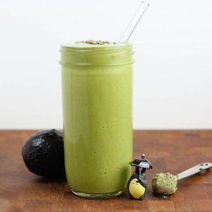 Green smoothie named Green Tea Smoothie
